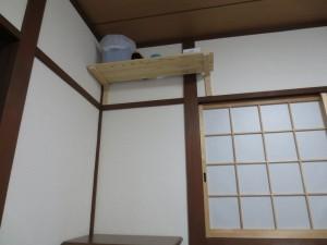 棚を作りました。
