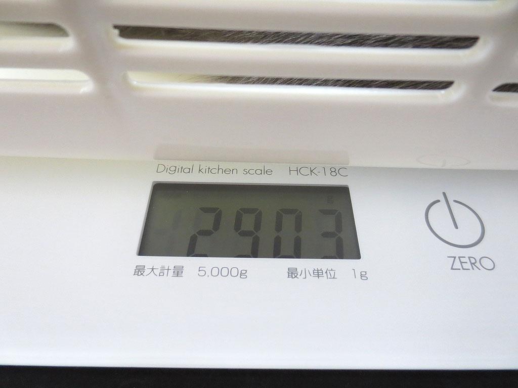 ロシ子の体重は2,903gで決定。