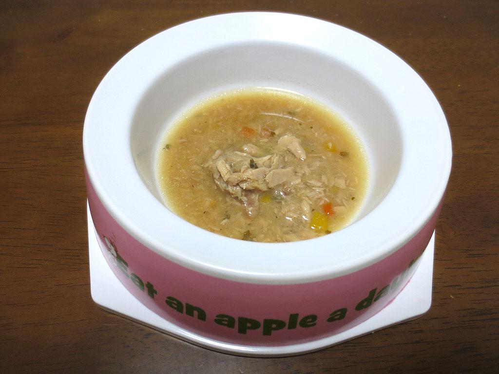 まぐろスープです。