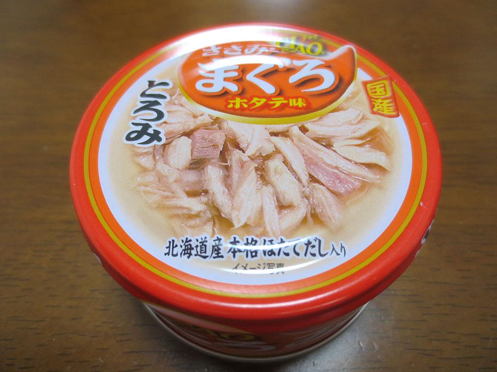 CIAOの猫用の缶詰です。