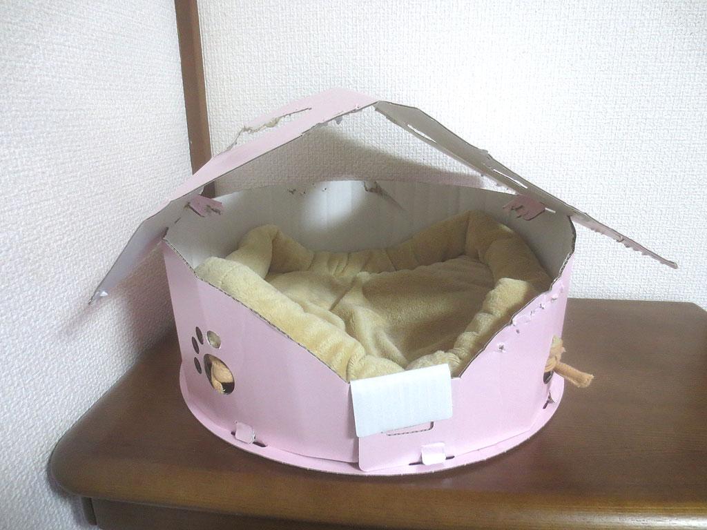 冬用の猫ベット。