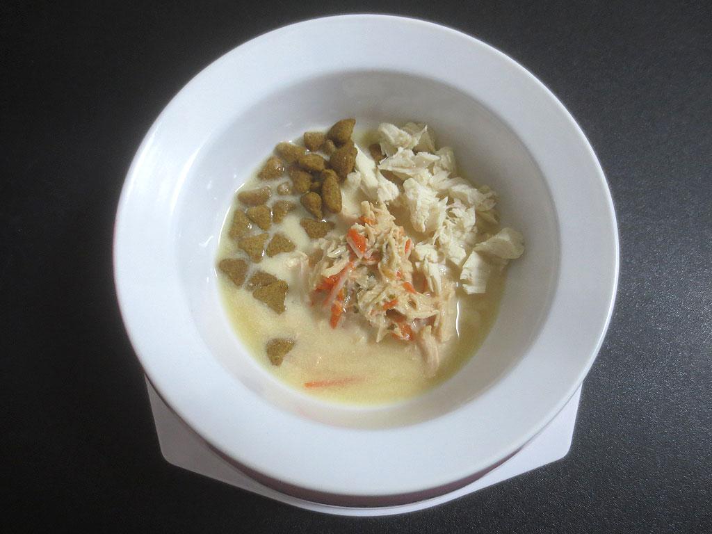 デリシャスのロシ子の特別ご飯。