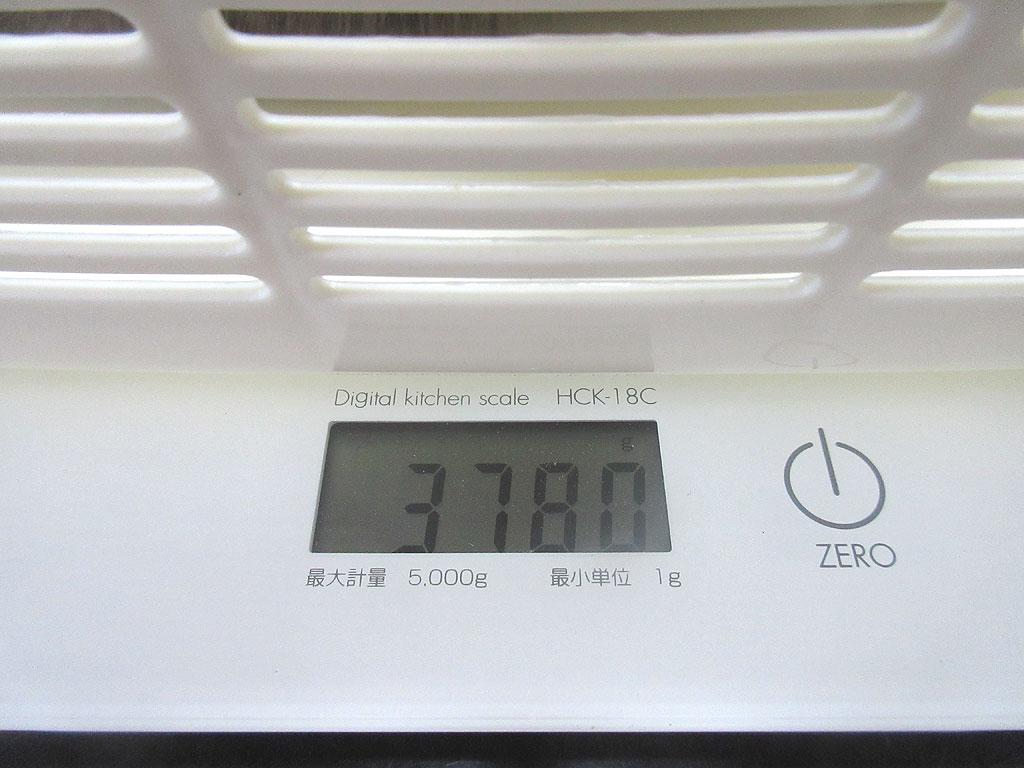 ロシ子の体重は3,780gでした。