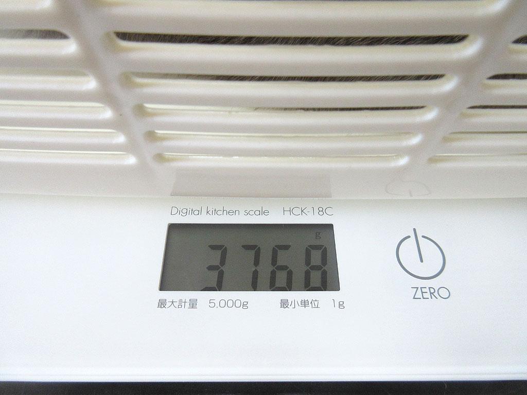 ロシ子の体重は3,768gでした。