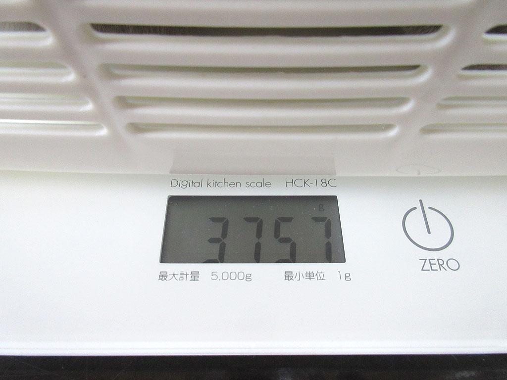 ロシ子の体重は3,757gでした。