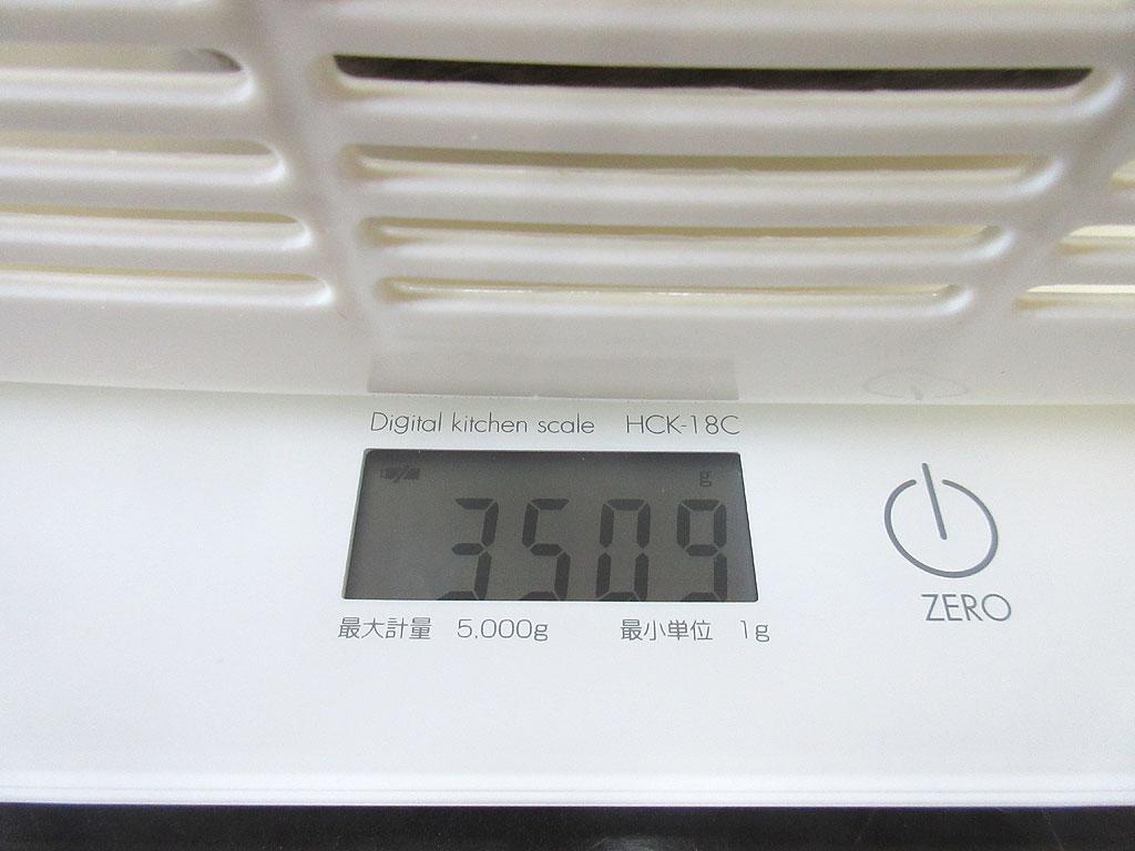 ロシ子の体重は3,509g。