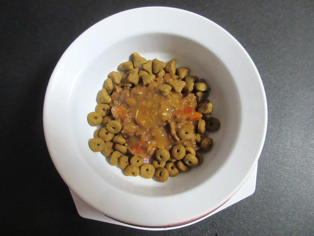 ロシ子の特別ご飯。