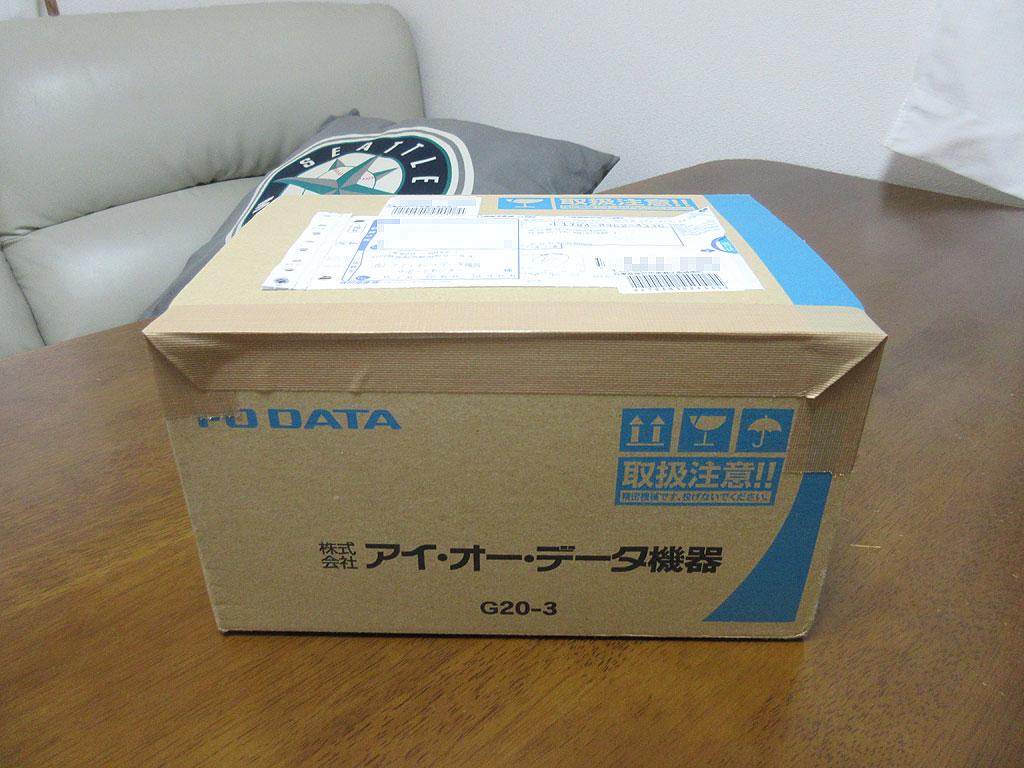 新しいWebカメラが届きました。