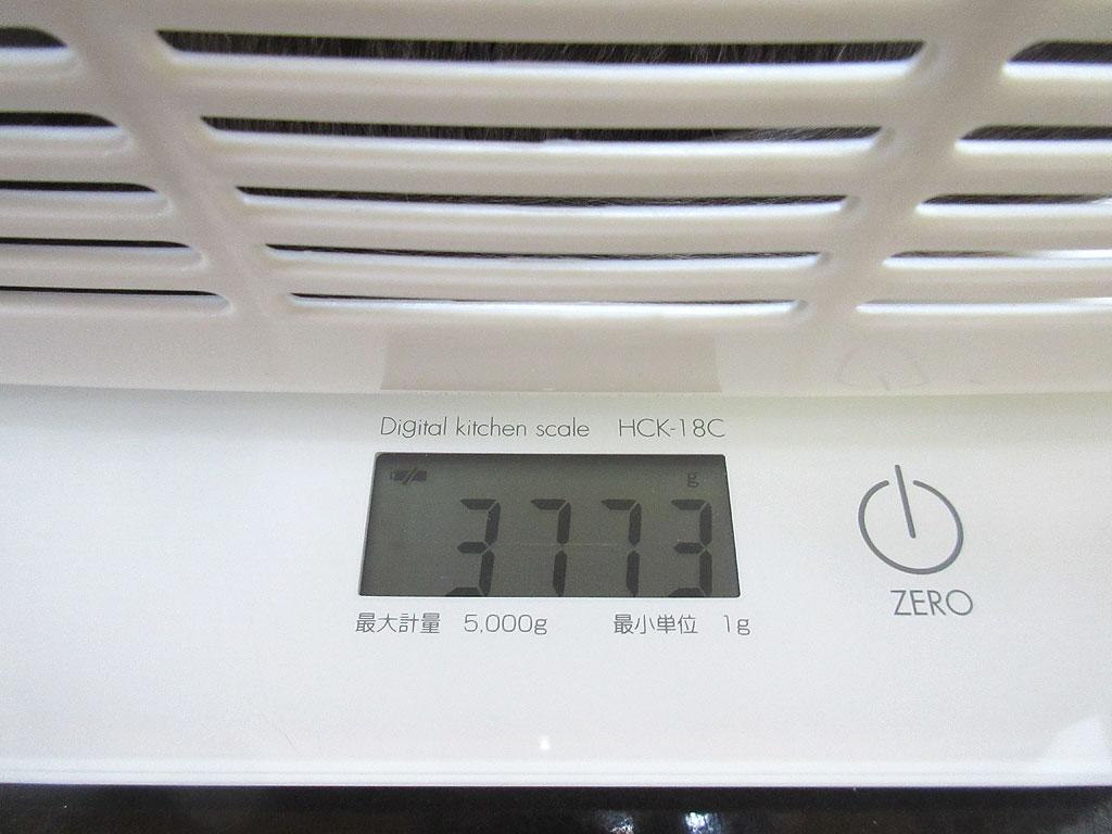 ロシ子の体重は3,773gでした。