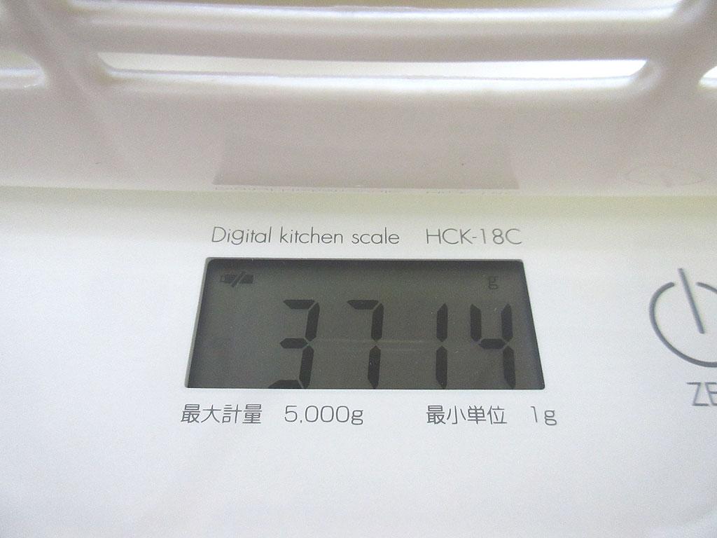 ロシ子の体重は3,714g。