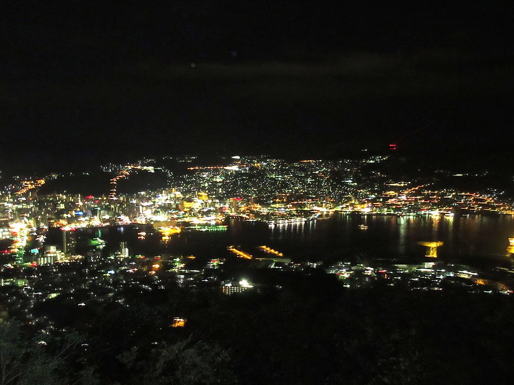 長崎の夜景。