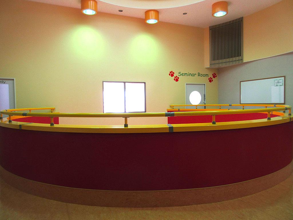 2階の診察室等。