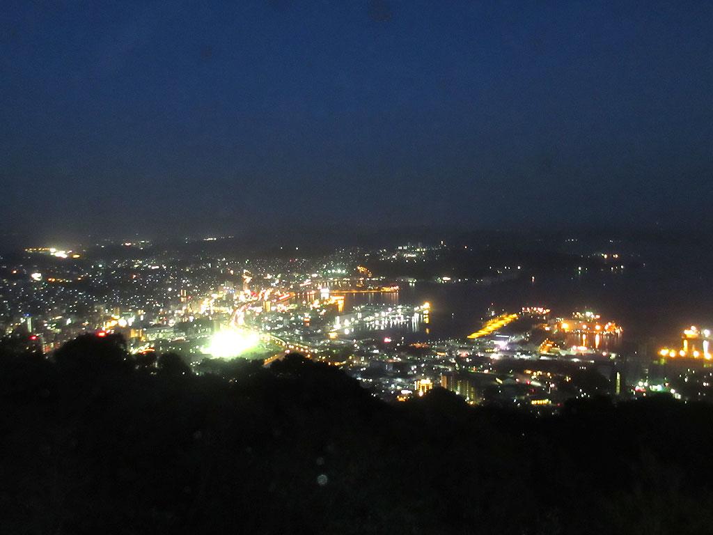 弓張丘からの夜景。