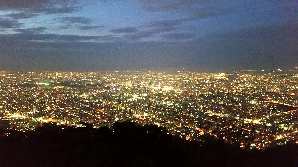 藻岩山の夜景①