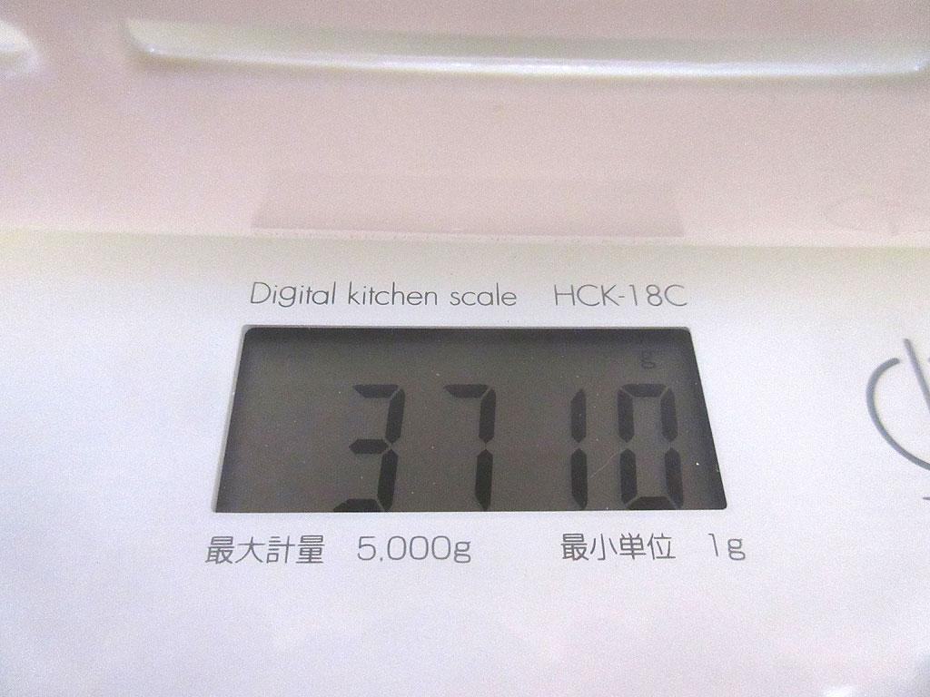 ロシ子の体重は3,710g。