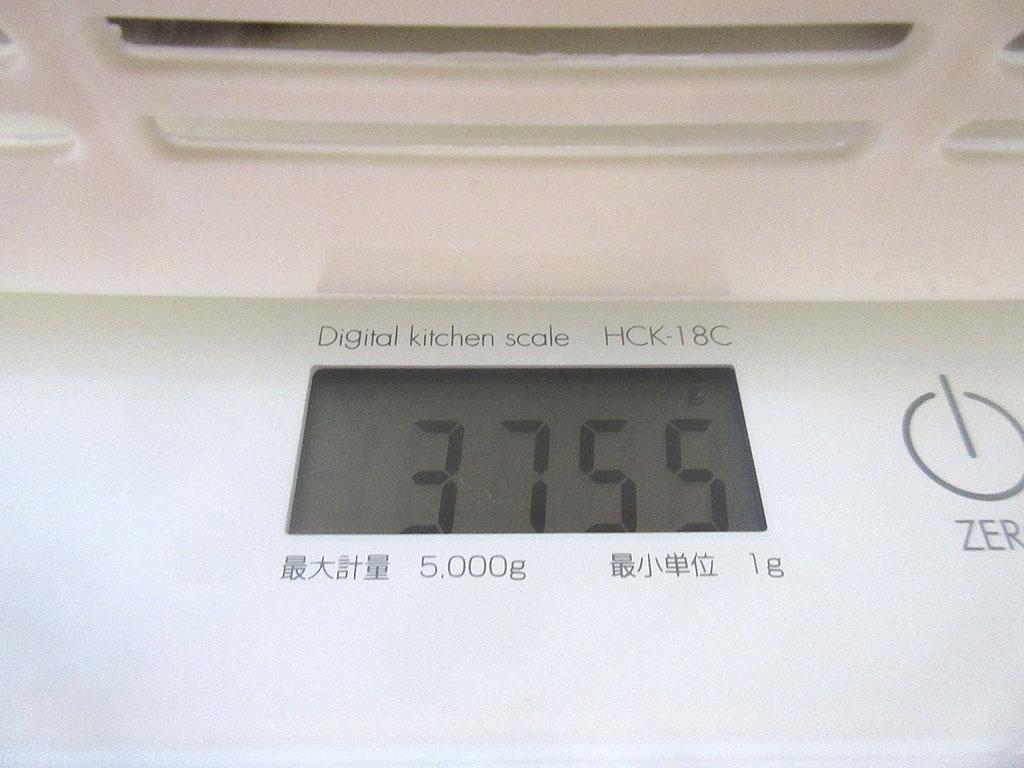 ロシ子の体重は3,755g。