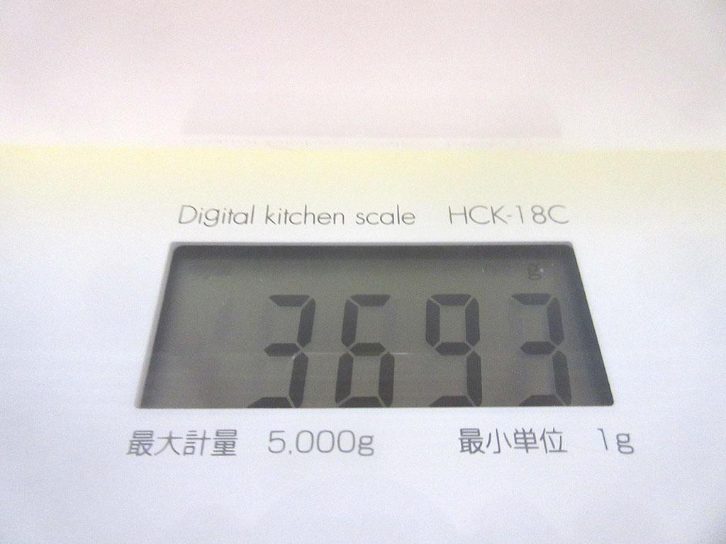 ロシ子の体重は3,693g。