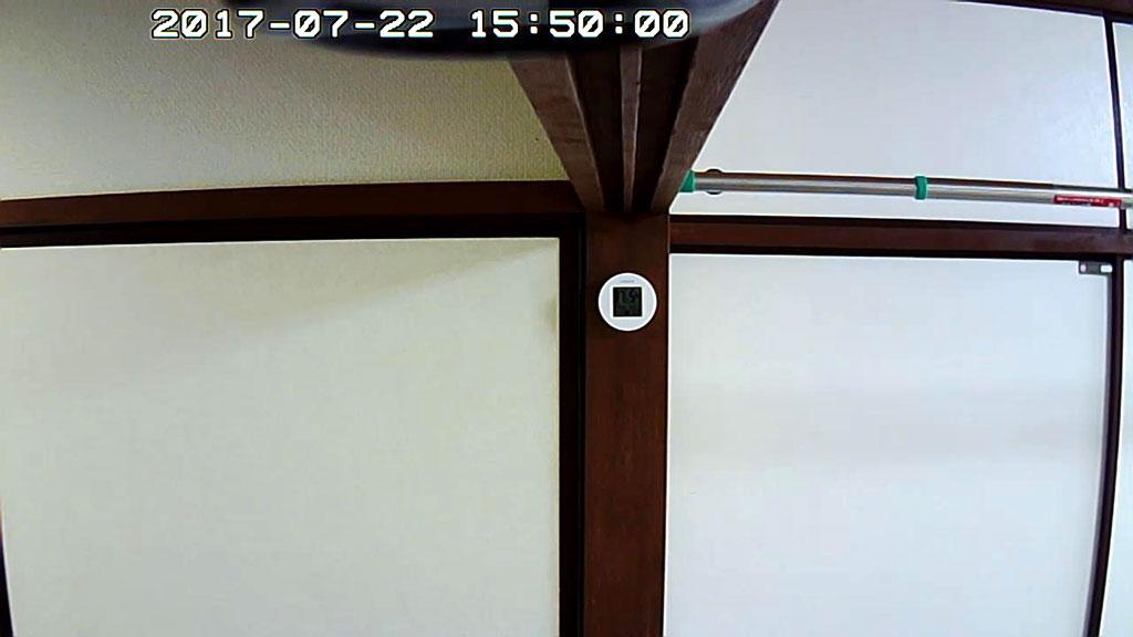 Webカメラからの景色。
