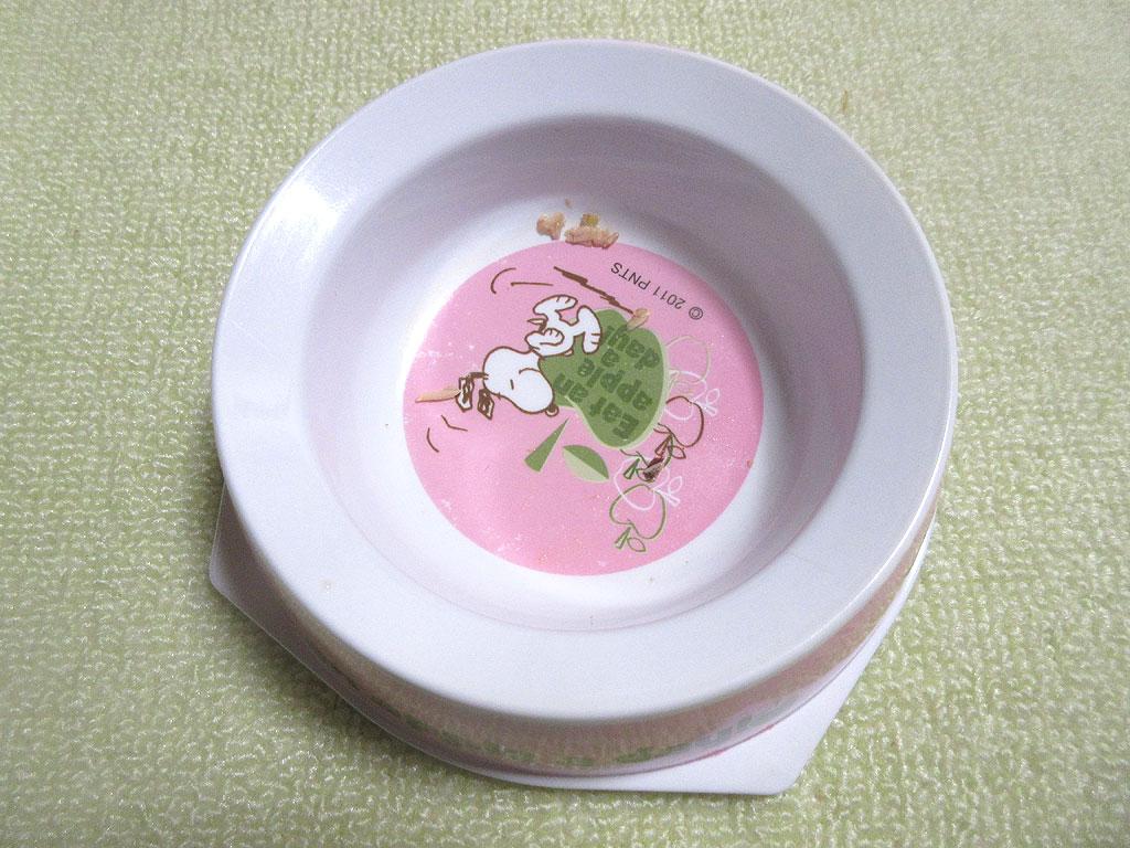 ロシ子の完食したお皿。