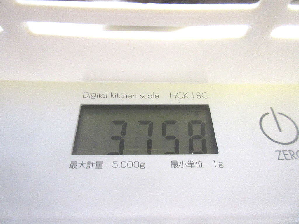 ロシ子の体重は3,758g。