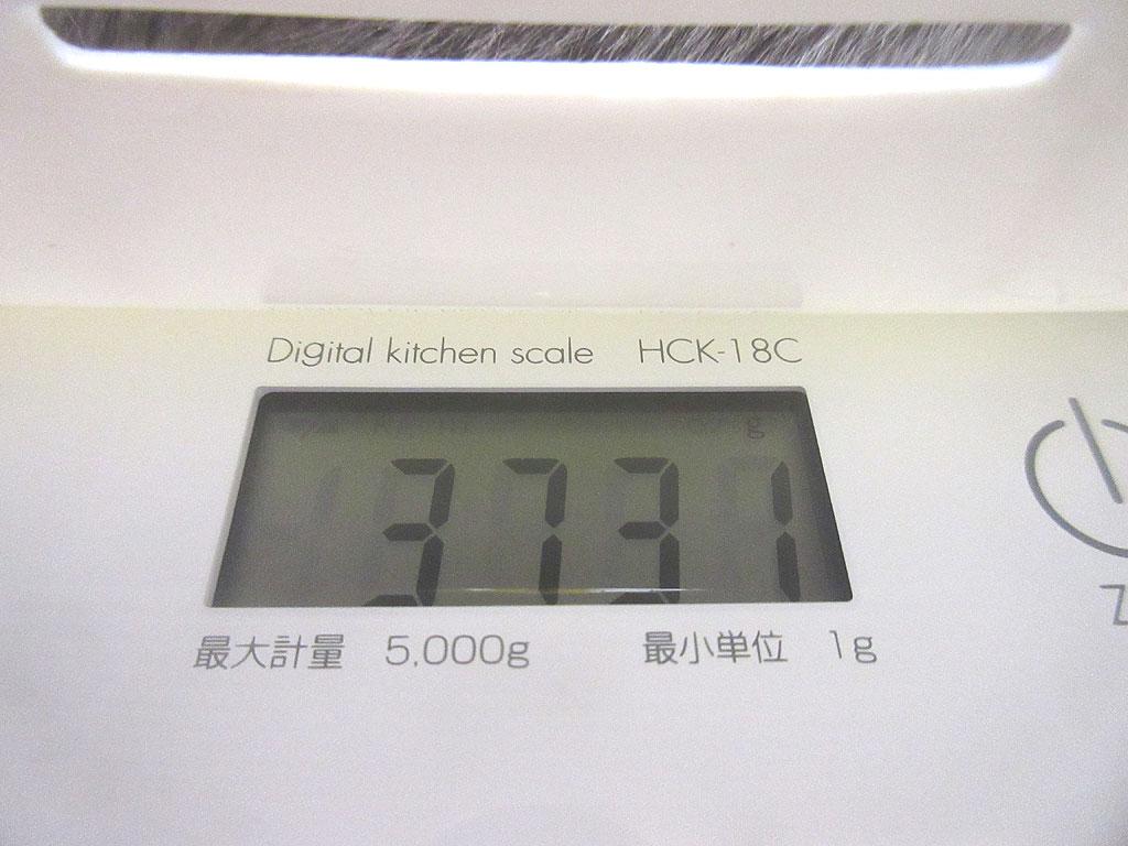 ロシ子の体重は3,731g。