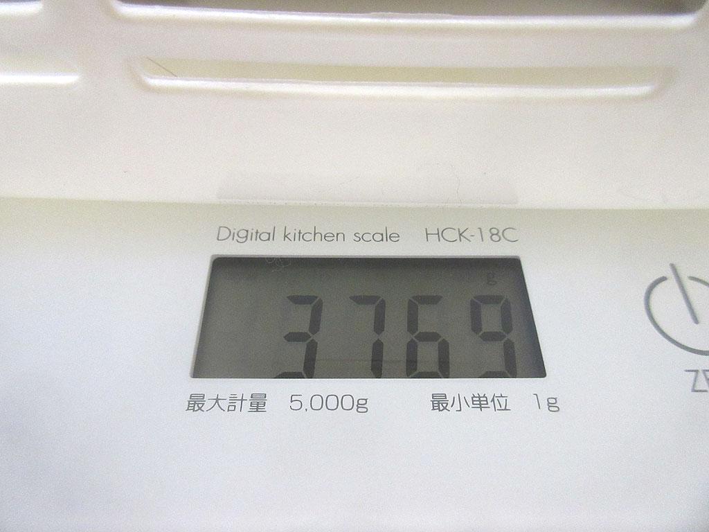 ロシ子の体重は3,769g。