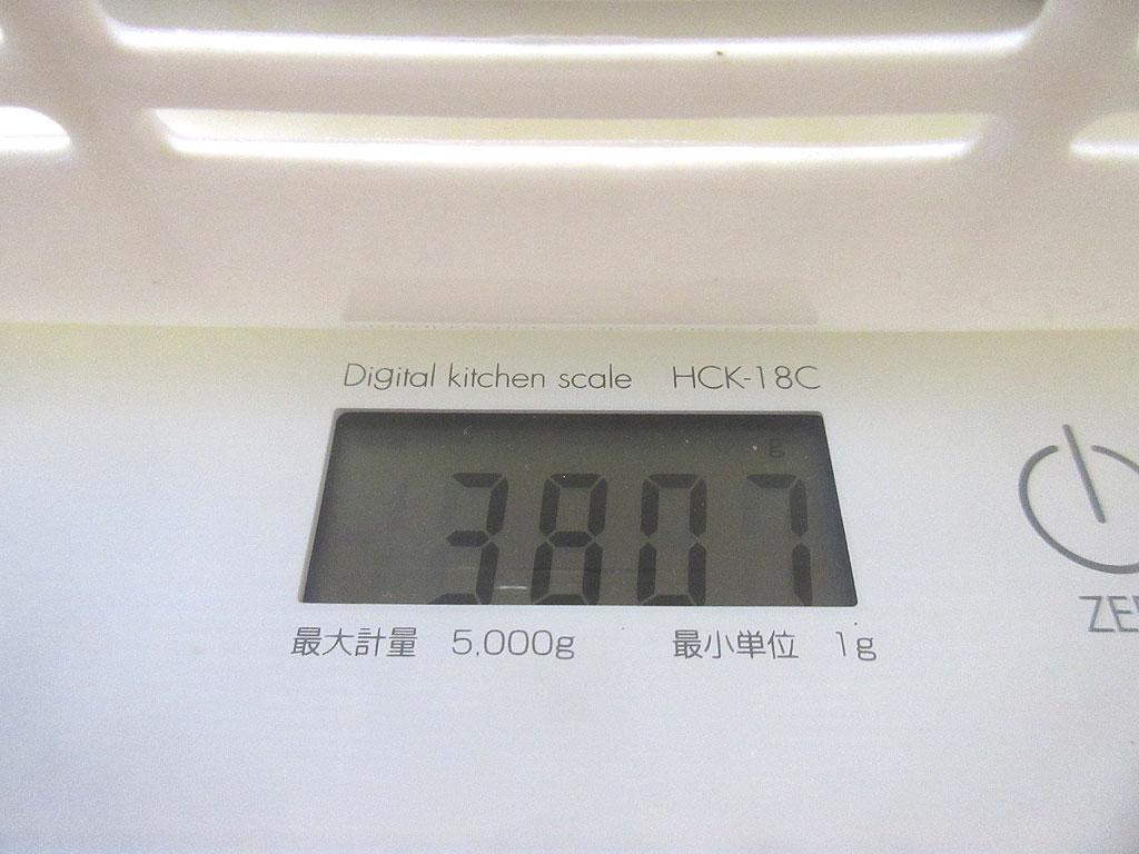 ロシ子の体重は過去最重タイ。