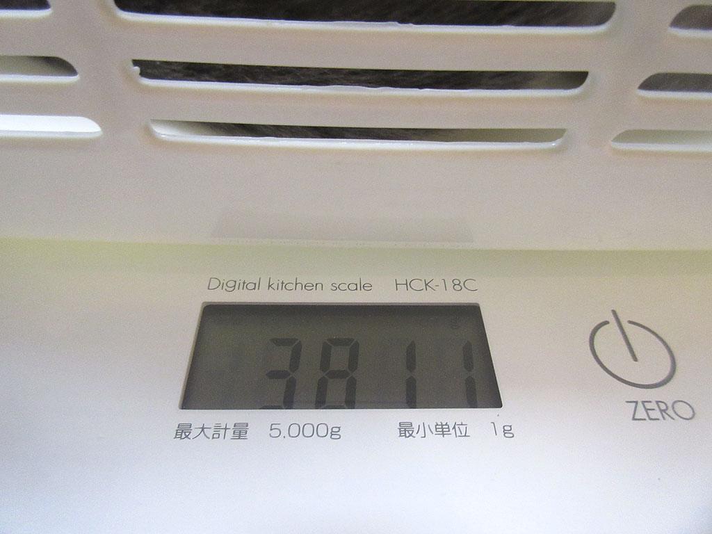 ロシ子の体重は3,811g。