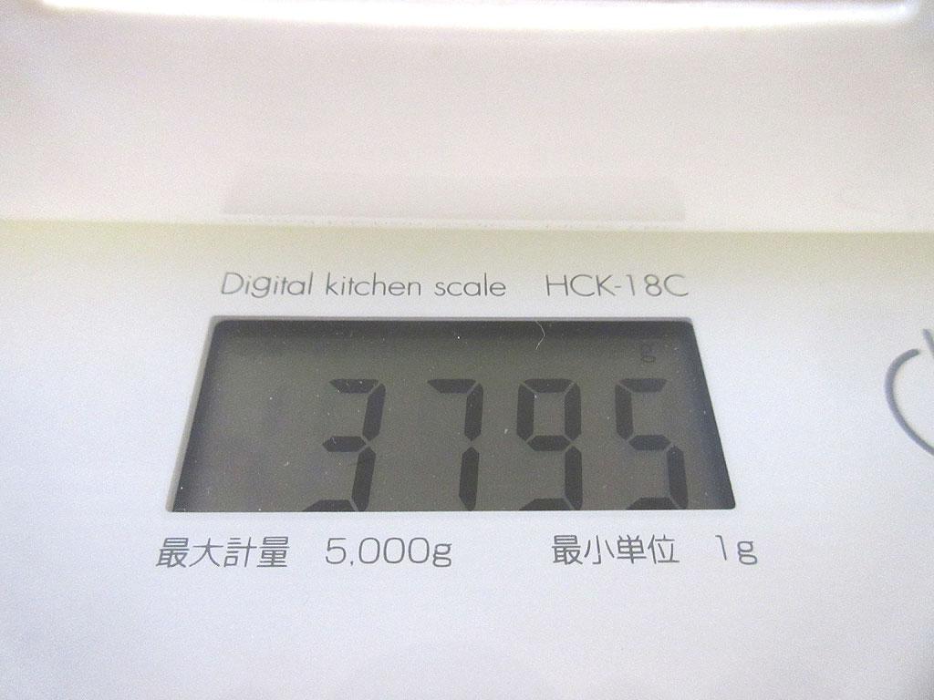ロシ子の体重は3,795g。