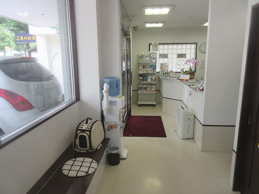 リバティ神戸動物病院内の風景。