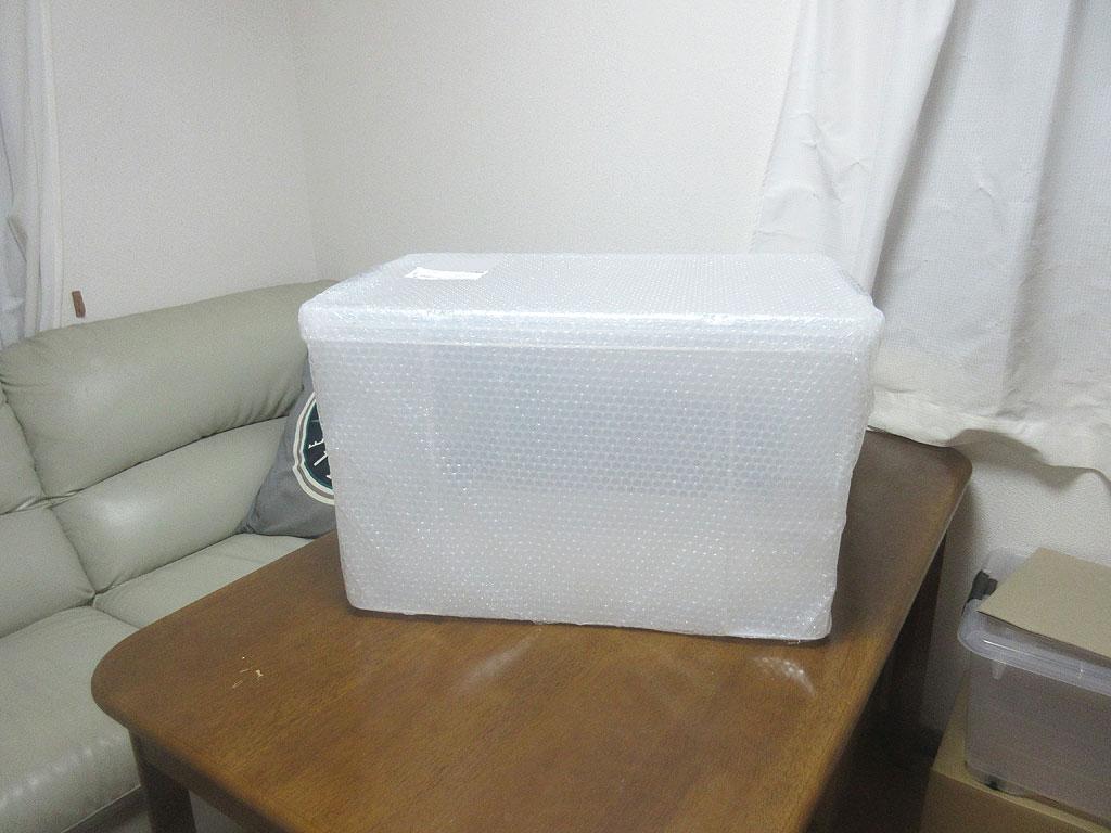 Amazonから届いたプラケース。