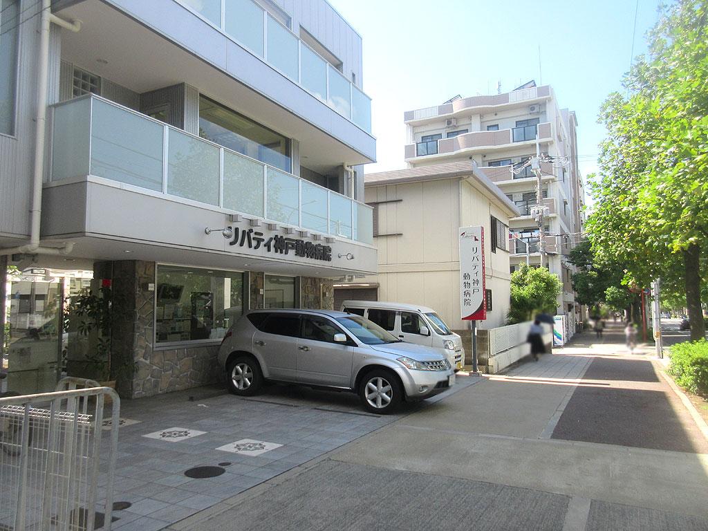 リバティ神戸動物病院。
