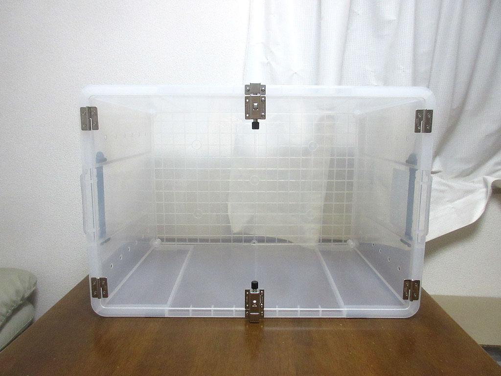 一応、完成済みの自作酸素ハウス。