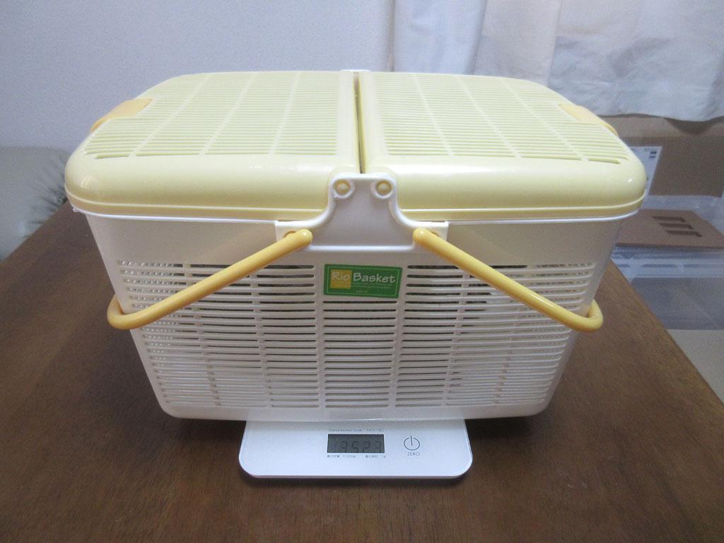 先週のロシ子の体重測定。